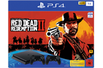 9758815 - Sony PlayStation 4 Slim Black - 1TB (Red Dead Redemption 2 Bundle - 2 Dual Shock)