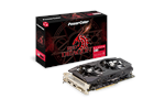 AXRX 590 8GBD5-DHD - PowerColor AMD Radeon RX 590 Red Dragon - 8GB GDDR5 RAM - Grafikkort