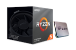 100-100000022BOX - AMD Ryzen 5 3600X Wraith Spire CPU - 6 kärnor 3,8 GHz - AMD AM4 - AMD Boxed (PIB - med kylare)
