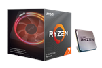 100-100000071BOX - AMD Ryzen 7 3700X Wraith Prism CPU - 8 kärnor 3,6 GHz - AMD AM4 - AMD Boxed (PIB - med kylare)