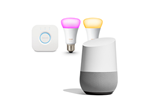 GA00341-NO+HUE - Google Home + Philips Hue Color 2xE27 Bulbs Starter Kit