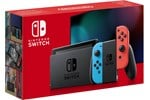 10002207 - Nintendo Switch With Joy-Con - Neon Blue and Neon Red (New revised model)