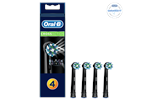 Cross Action Black 4ct - Oral-B Borsthuvuden Cross Action Black 4 pcs