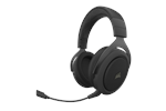 CA-9011211-EU - Corsair HS70 PRO Wireless Gaming Headset - Carbon - Svart