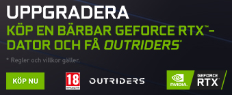 Nvidia Geforce Outstriders Bundle