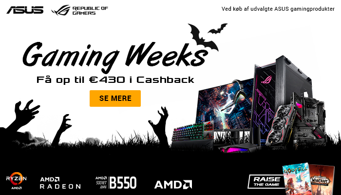 ASUS Gaming Week Cashback
