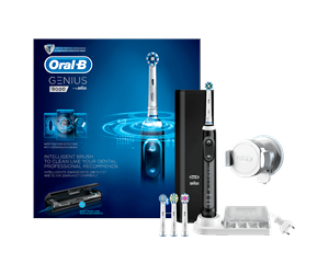 157526 - Oral-B eltandborste Genius 9000N eltandborste i svart Powered by Braun