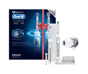 4210201157601 - Oral-B eltandborste Genius 8900 eltandborste Powered by 2-pack