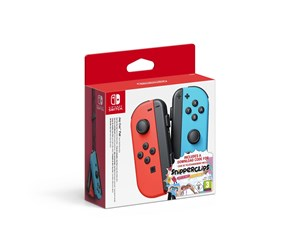0045496430689 - Nintendo Joy-Con Controllers Neon Red & Neon Blue incl Snipperclips - Gamepad - Nintendo Switch
