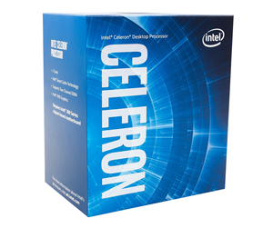 BX80684G4900 - Intel Celeron G4900 Coffee Lake CPU - 2 kärnor 3,1 GHz - Intel LGA1151 - Intel Boxed