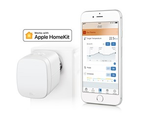 10EAR1701 - Eve Thermo - Connected Radiator Valve for Apple HomeKit