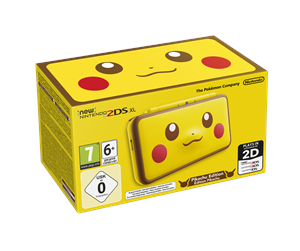 0045496504700 - Nintendo New 2DS XL - Pikachu Edition