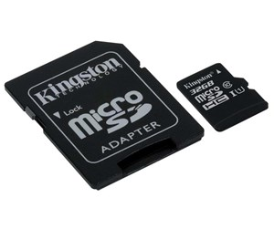 SDCS/32GB - Kingston Canvas Select microSDHC / SDHC - 32GB