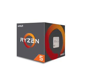YD2600BBAFBOX - AMD Ryzen 5 2600 with Wraith Stealth - Pinnacle Ridge CPU - 6 kärnor 3.4 GHz - AMD AM4 - AMD Boxed (PIB - med kylare)