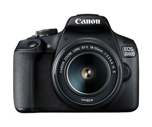 2728C003 - Canon EOS 2000D 18-55 IS II - Black
