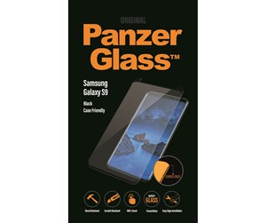 PANZER7142 - PanzerGlass Samsung Galaxy S9 - Black (Case Friendly)