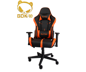 ESPORT1-BO - DUTZO E-Sport - Black/Orange Gaming Stol - Svart / Orange - PU-skin - Upp till 120 kg