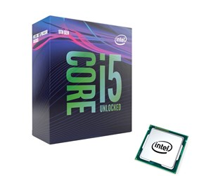 BX80684I59600K - Intel Core i5-9600K Coffee Lake S CPU - 6 kärnor 3,7 GHz - Intel LGA1151 - Intel Boxed