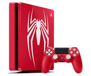 711719726616 - Sony PlayStation 4 Slim Red - 1TB (Spider-Man Bundle) Limited Edition