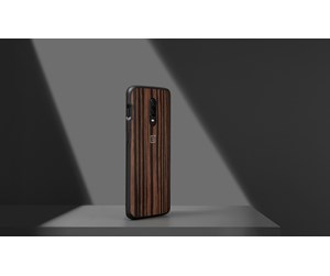 5431100065 - OnePlus 6T - Ebony Wood Bumper Case