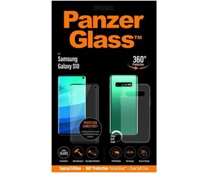 PANZERB7175 - PanzerGlass Samsung Galaxy S10 (CaseFriendly) - w/ Protective Cover