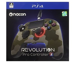 3499550366068 - NACON Revolution Pro V2 Controller - CamoGreen - Gamepad - Sony Playstation 4