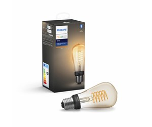 929002241201 - Philips Hue White Filament ST64 Bulb E27 - BT