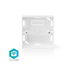 WIFIWB10WT - Nedis Back Box for Surface Mounting 86 x 86 mm White