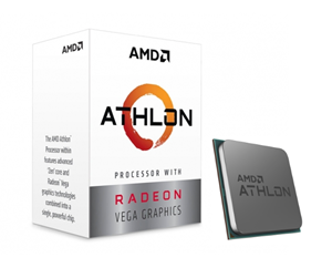 YD3000C6FHBOX - AMD Athlon 3000G CPU - 2 kärnor 3,5 GHz - AMD AM4 - AMD Boxed (PIB - med kylare)