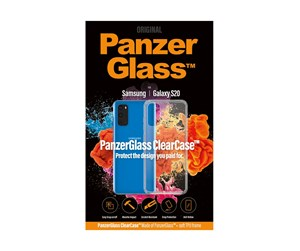 PANZER0235 - PanzerGlass Samsung Galaxy S20 ClearCase with TPU Cover