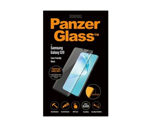 PANZER7219 - PanzerGlass Samsung Galaxy S20 (Case Friendly) - Black