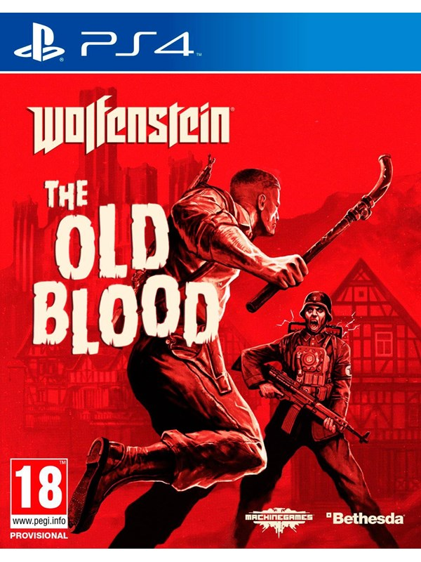 Wolfenstein: The Old Blood - Sony PlayStation 4 - FPS