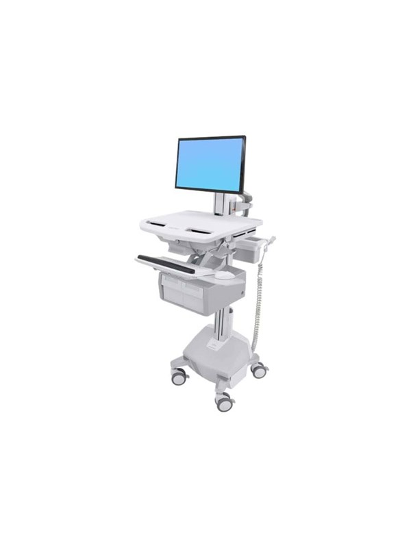 Ergotron StyleView Cart with LCD Pivot, LiFe Powe