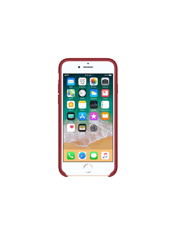 Apple iPhone 7/8 Leather Case - (PRODUCT)RED