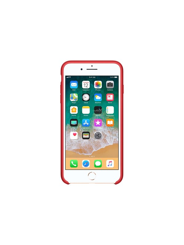 Apple iPhone 7/8 Plus Silicone Case - (PRODUCT)RED