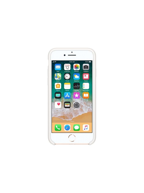 Apple iPhone 7/8 Silicone Case - White