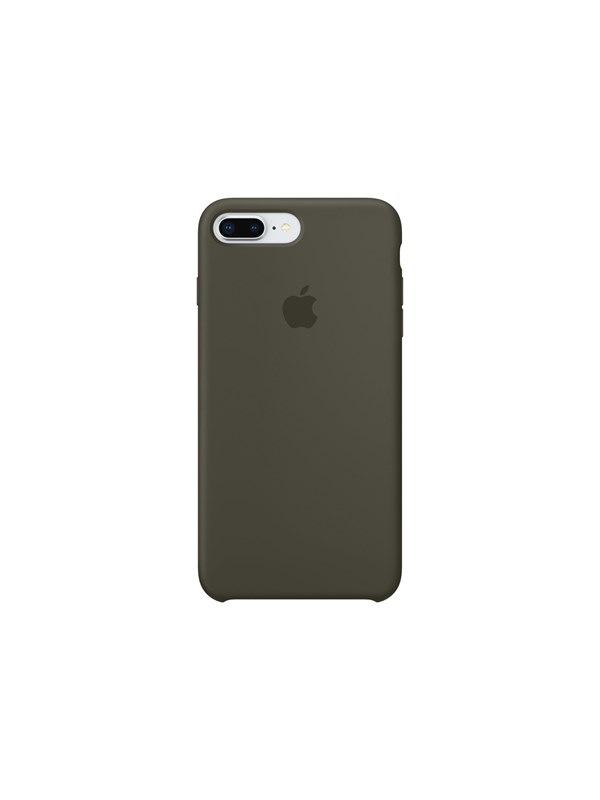 Apple iPhone 7/8 Plus Silicone Case - Dark Olive