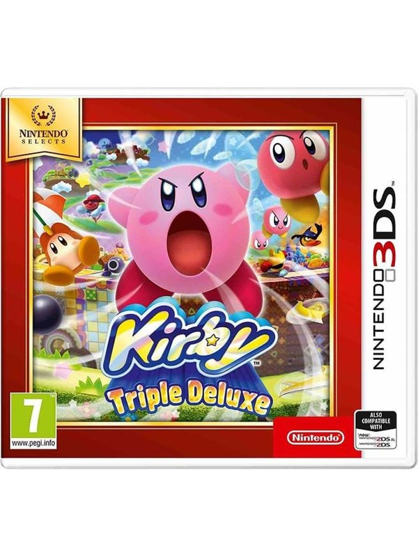 Kirby Triple Deluxe - Selects - Nintendo 3DS - Action