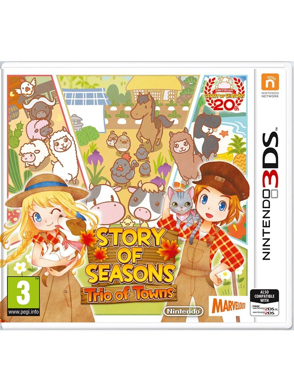 Story of Seasons: Trio of Towns - Nintendo 3DS - RPG