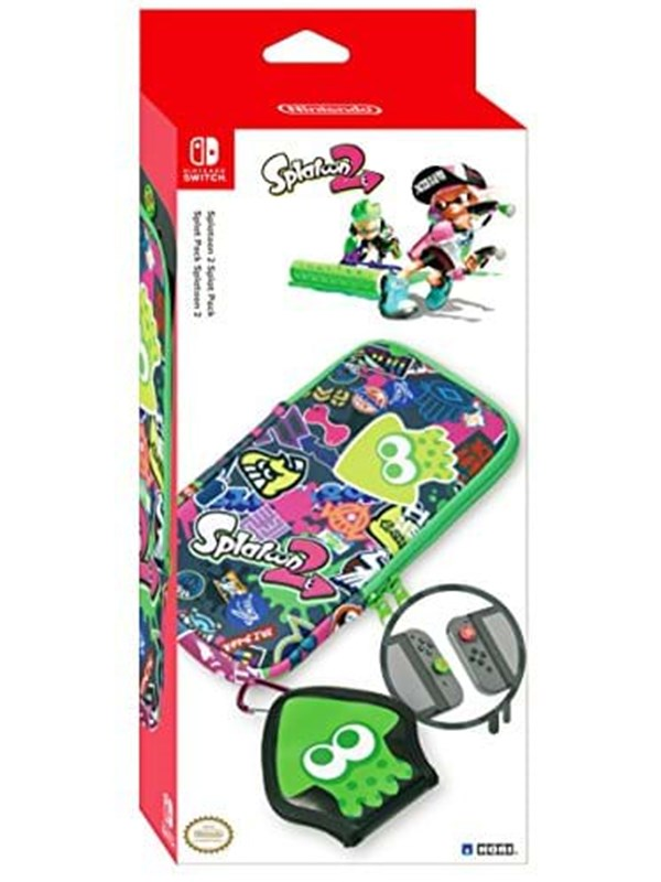 HORI Splat Pack Splatoon 2: Nintendo Switch Essential Accessories Pack - Tillbehör för spelkonsol - Nintendo Switch