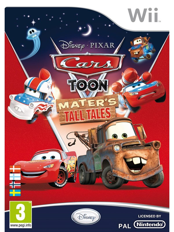 Cars Toon Mater's Tall Tales - Windows - Racing