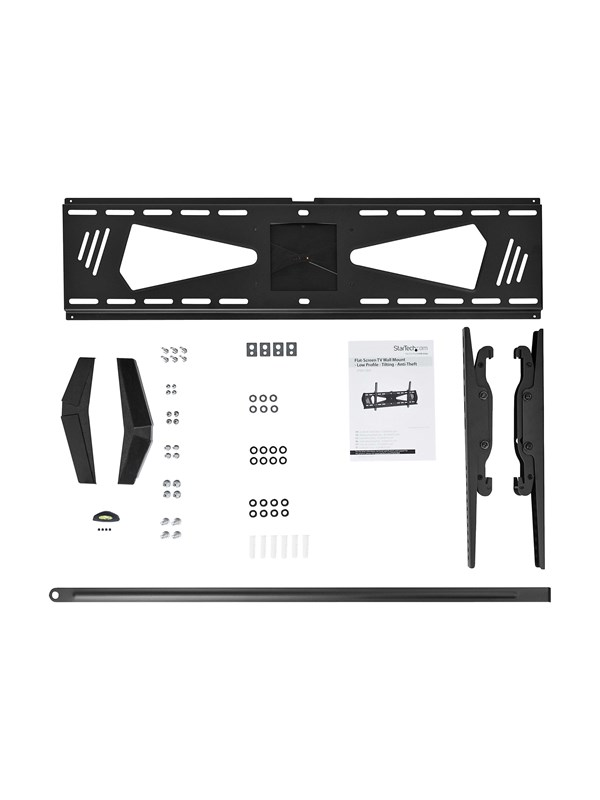 "StarTech.com Flat-Screen TV Wall Mount - Low Profile - For 37"" to 70"" TV - Anti-Theft - Tilting - vægmontering"