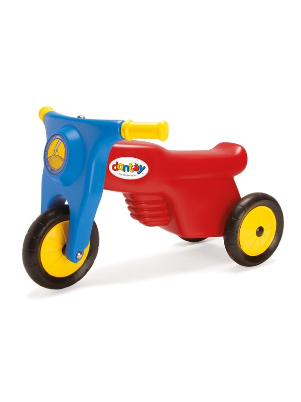 Dantoy Motorcycle with rubber wheels