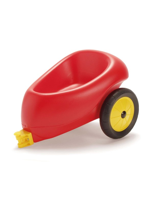 Dantoy Trailer With Rubber Wheels