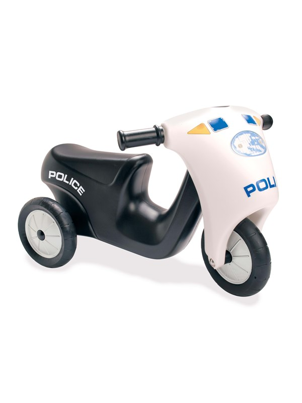 Dantoy Scooter Police With Rubber Wheels