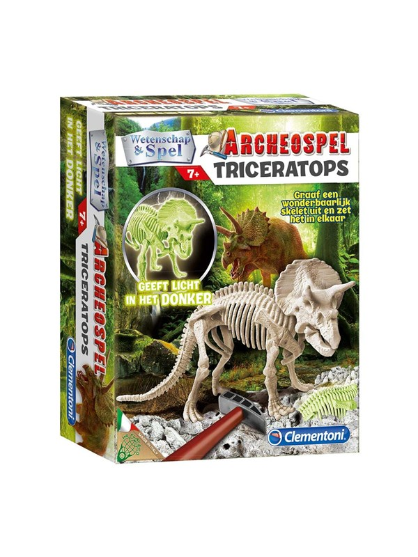 Clementoni Science & Game-Triceratops