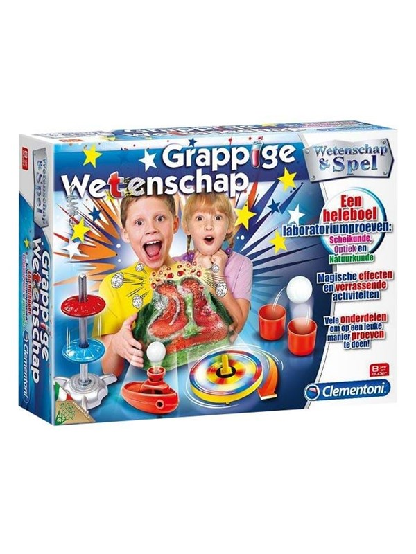 Clementoni Science & Game-Funny Experiments