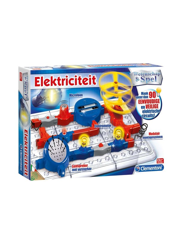 Clementoni Science & Game-Electricity