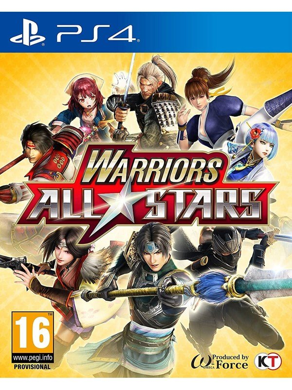 Warriors All-Stars - Sony PlayStation 4 - Action