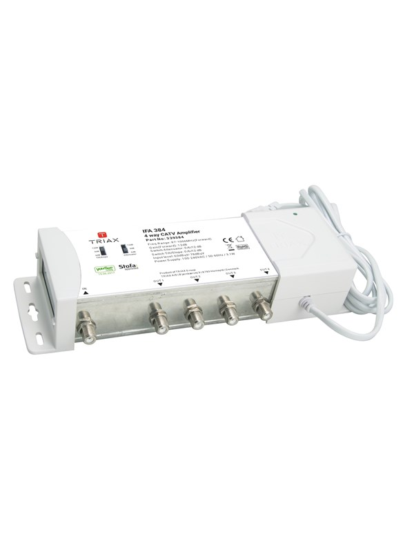 Triax Ifa 384 amplifier 4 outputs